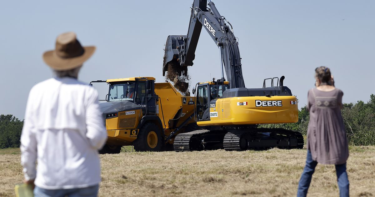 Work begins on a $490 million project to help fill North Texas' water demand. The new lake still may not be enough