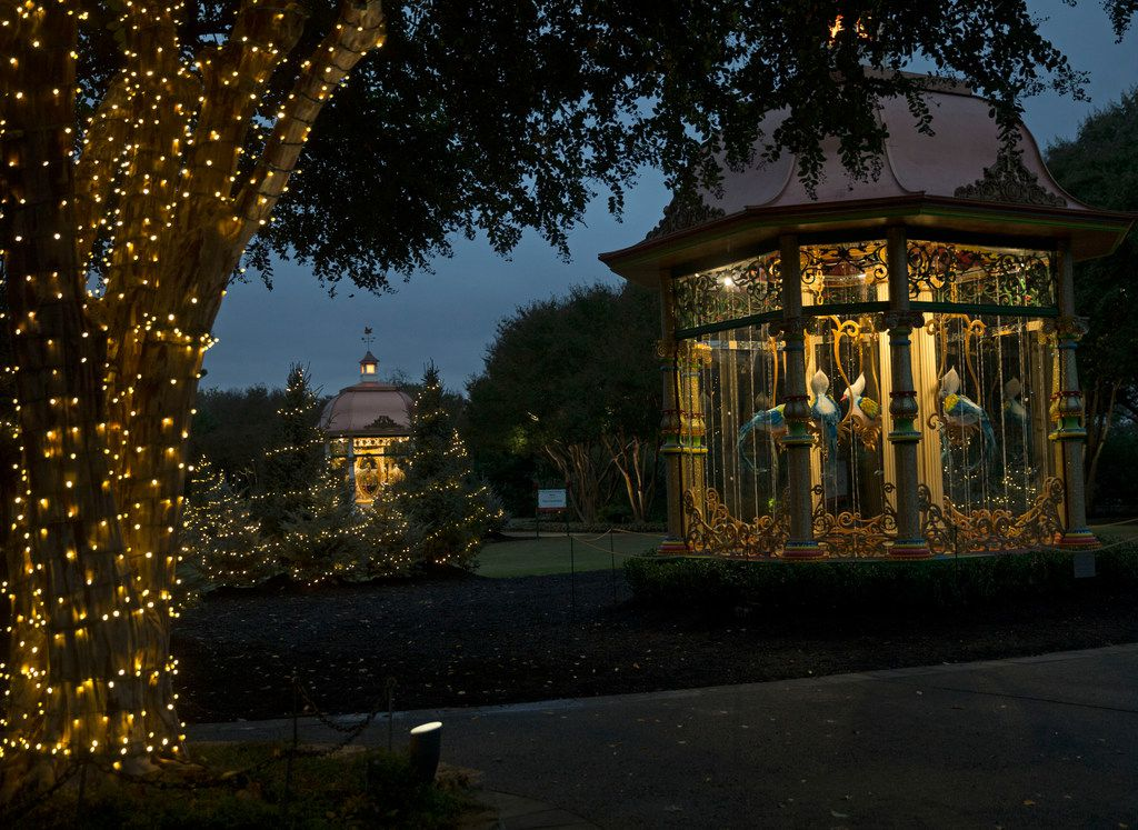 """The Dallas Arboretum's """"12 Days of Christmas at Night"""" will run until December 30."""