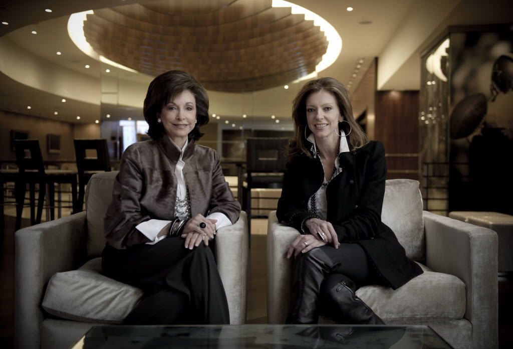 Charlotte Jones Anderson (right) will be named to the Crystal Charity Ball's Best Dressed Hall of Fame. Her mother, Gene Jones (left), previously received the same honor.