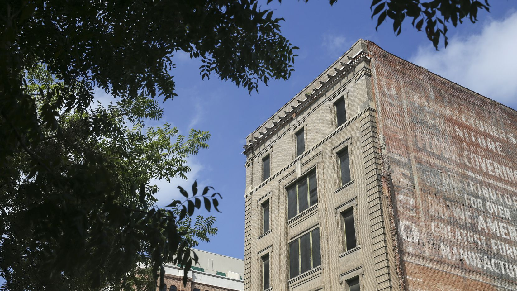 Downtown Dallas' more than century-old Purse Building has been empty since the early 1990s.