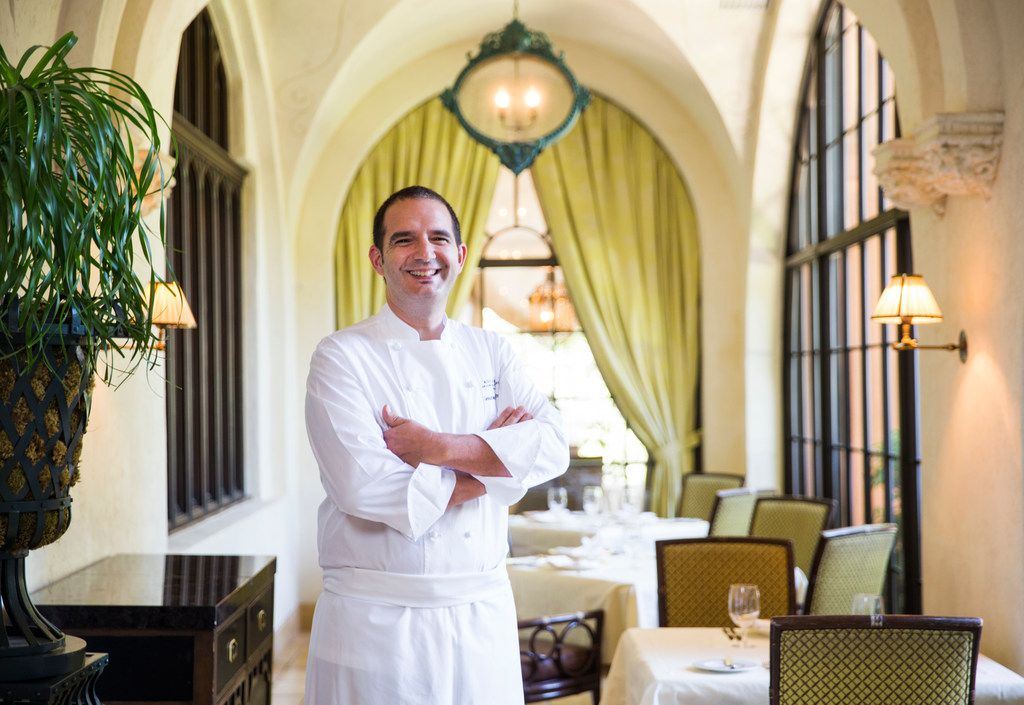 Sebastien Archambault, the new head chef at the Mansion on Turtle Creek.