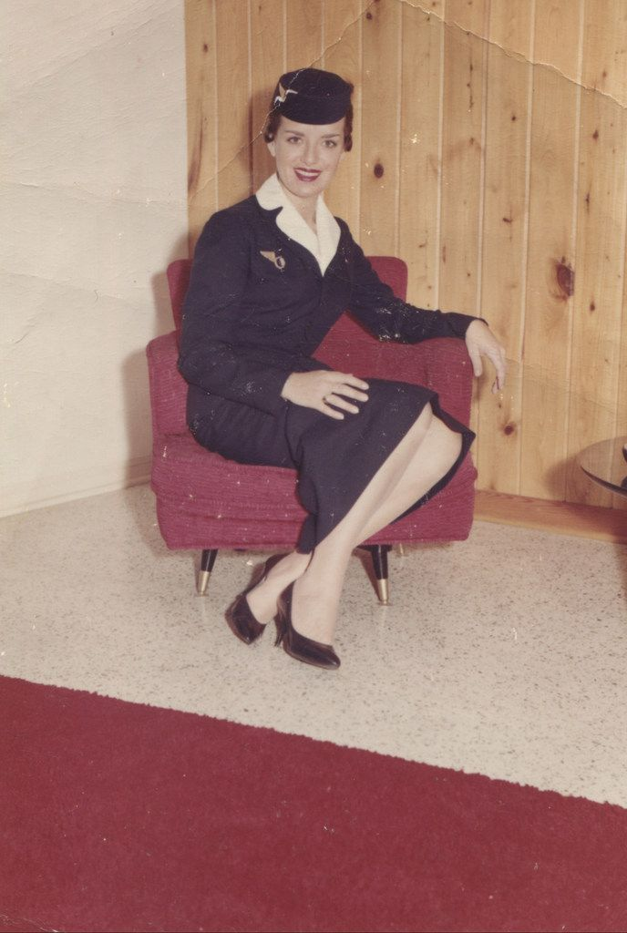 Bette Nash began her career as a flight attendant in 1957 when her Eastern Air Lines uniform included a pillbox hat.