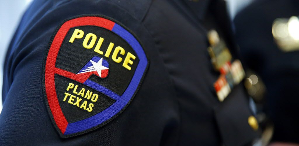 A file photo of a Plano police officer badge.