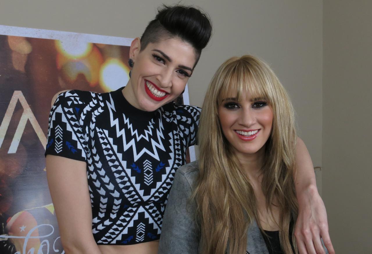 Ashley y Hanna Pérez. (AP/ISAAC GARRIDO)