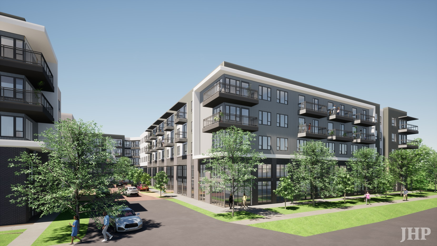The 370-unit Montgomery at Watters Creek apartments will open late next year in Allen.