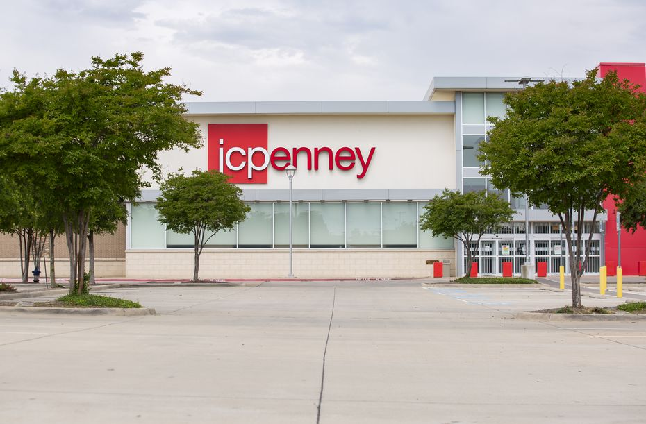 The empty parking lot and exterior of the J.C. Penney after it permanently closed last year in the Timber Creek Crossing shopping center.