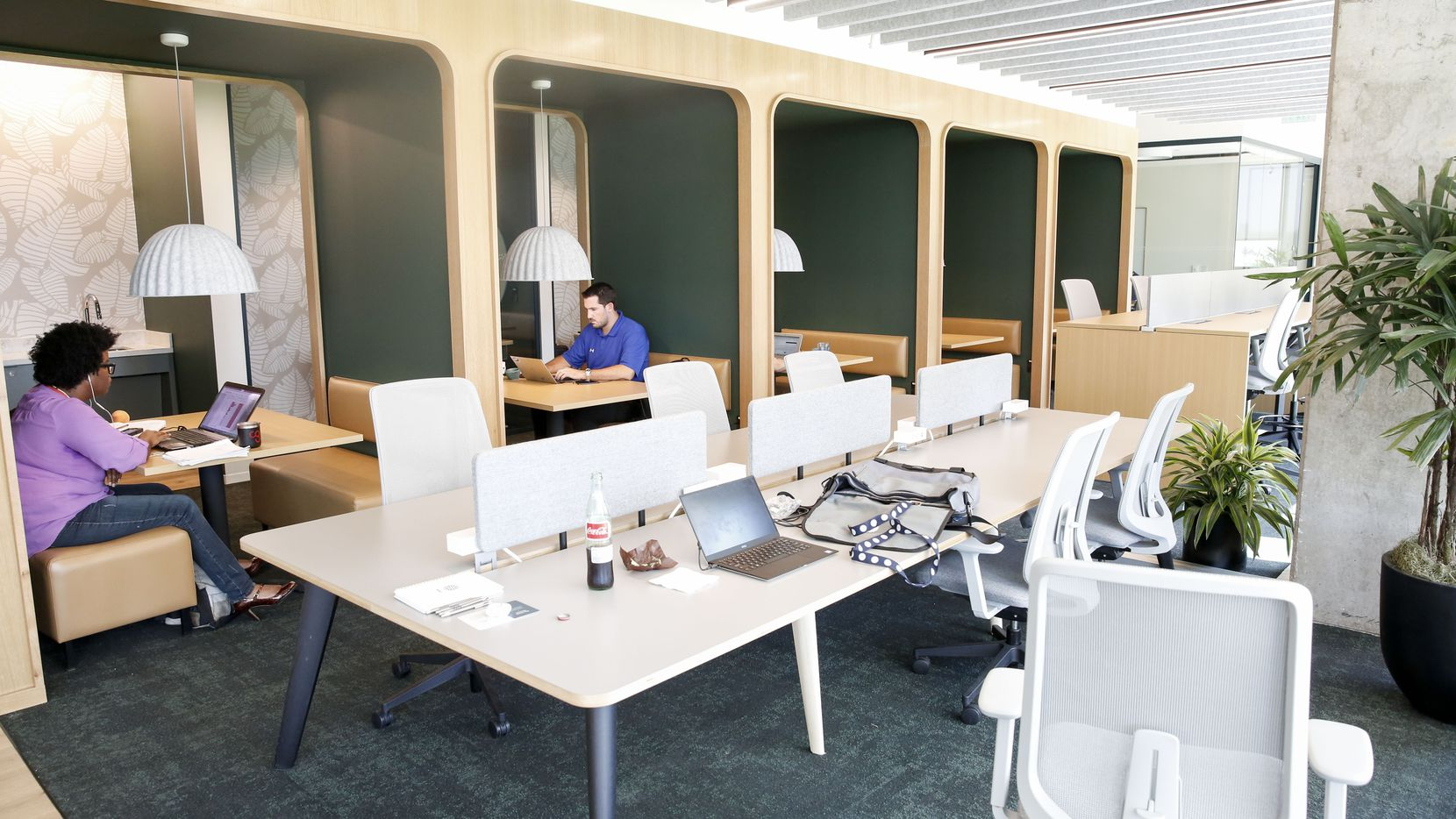 Shared offices - including the new Hana coworking center in Uptown - occupy millions of square feet in D-FW.