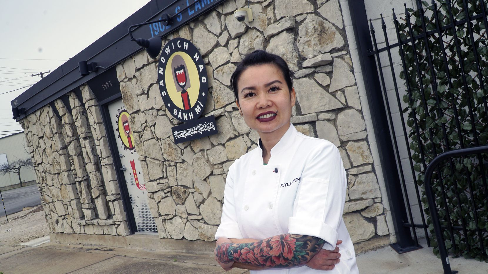 Reyna Duong, owner of Sandwich Hag in Dallas, Texas on Monday, March 2, 2020.  (Lawrence Jenkins/Special Contributor)