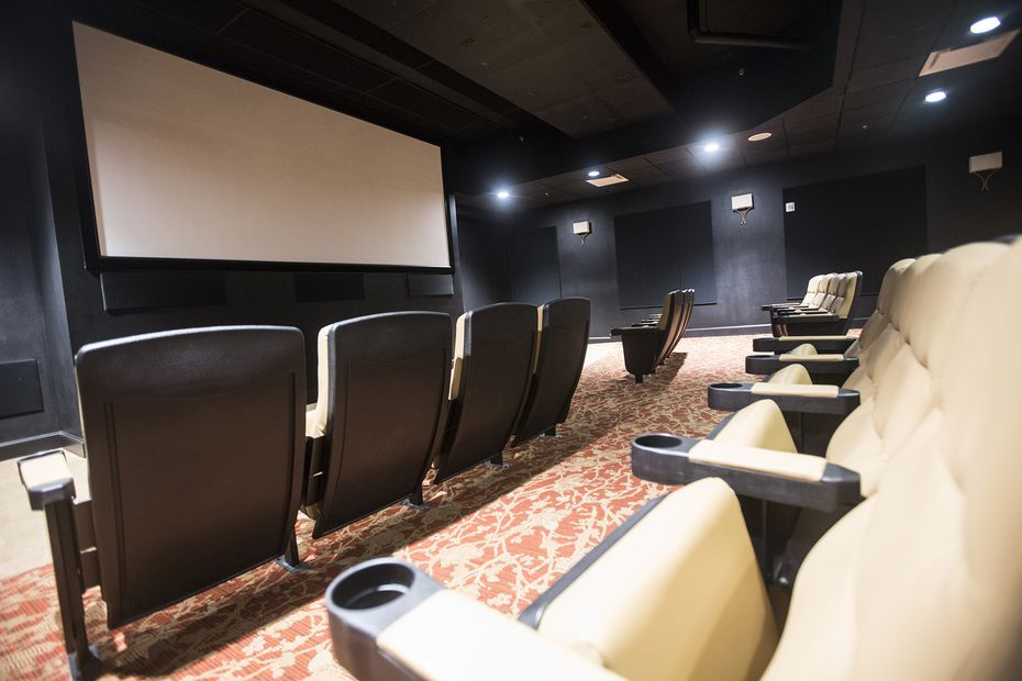 Senior living campuses often provide amenities that encourage social interaction among residents, such as the Tradition-Lovers Lane's 24-seat movie theater. (2015 File Photo)