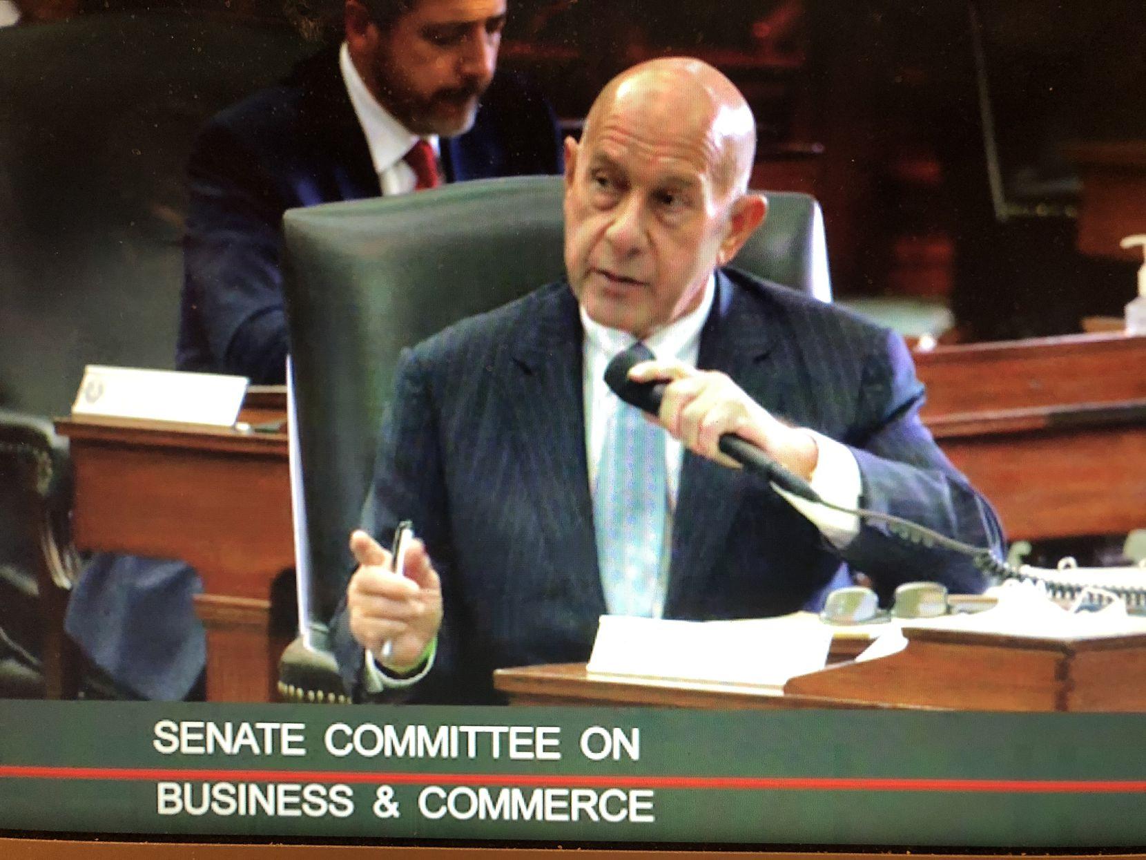 Sen. John Whitmire, D-Houston, was a senator who berated PUC Chairman DeAnn Walker on Feb. 25, 2021.