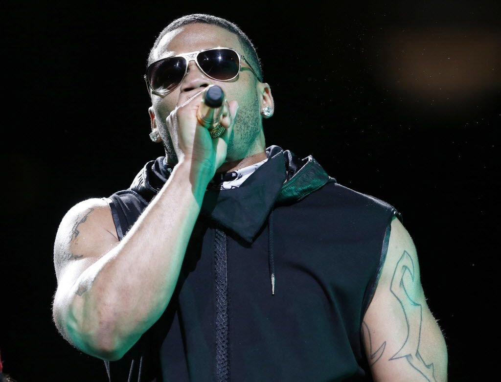 Musical recording artist Nelly performs at American Airlines Center in Dallas, on Thursday, May 14, 2015.