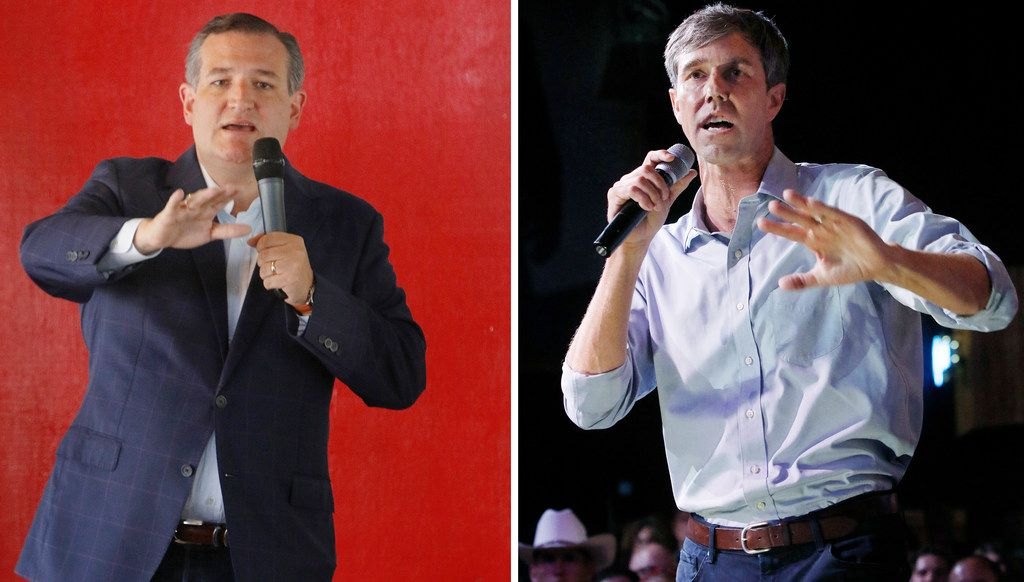 """Beto O'Rourke challenged Ted Cruz to six debates in April. Two months later, after refusing to negotiate, the senator countered with a """"take it or leave it"""" offer of five debates on Friday nights through October."""