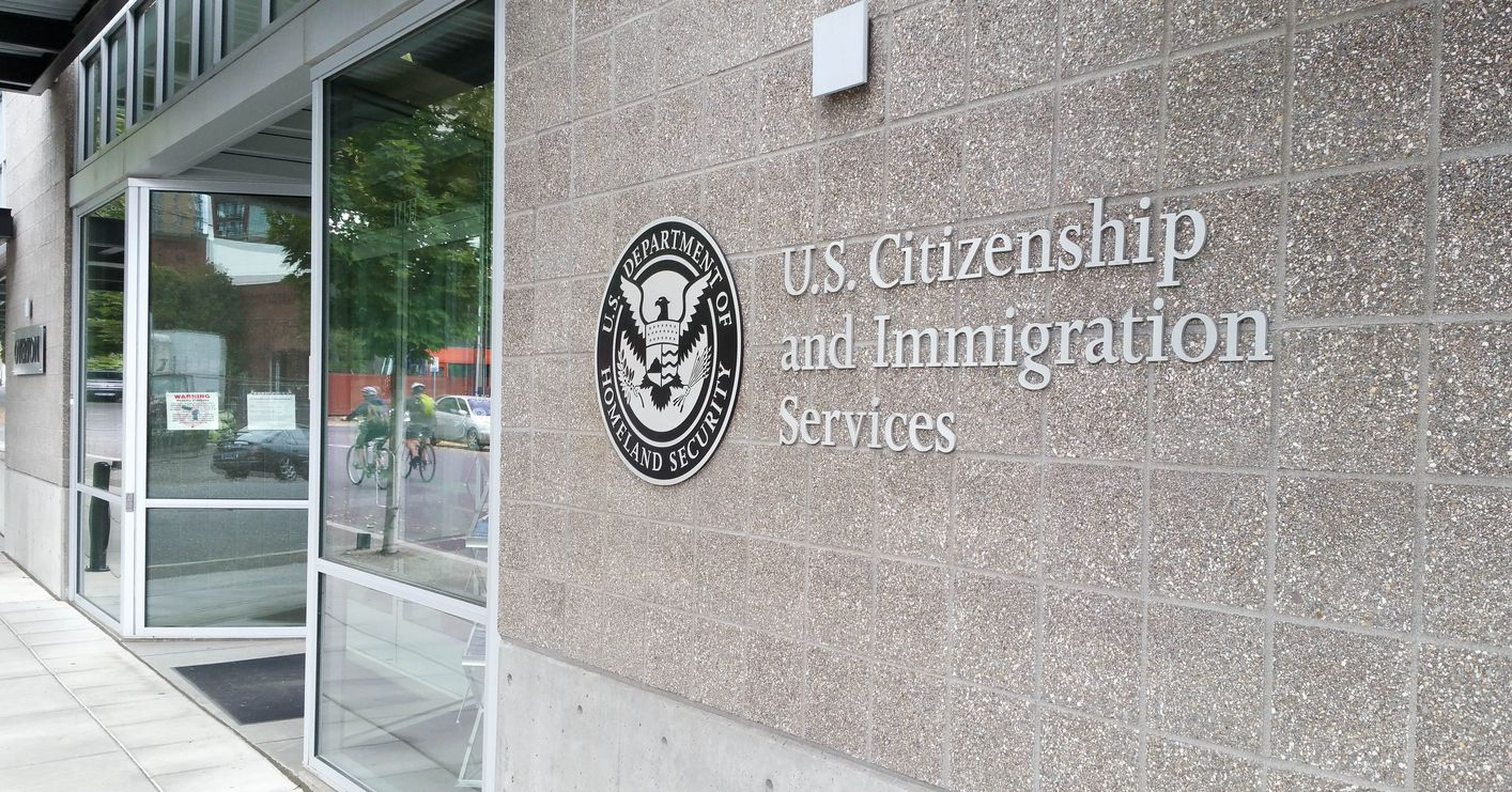 Oficina del Servicio de Inmigración y Ciudadanía.