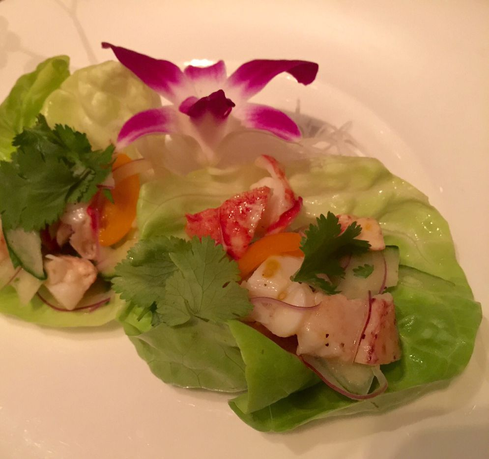 Lobster ceviche, another special