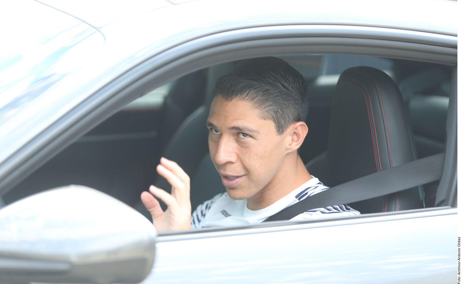 Hugo González (foto) y Dorlan Pabón fueron apartados y no hicieron el viaje a León, donde los Rayados visitan a La Fiera, por violar el protocolo sanitario del club.