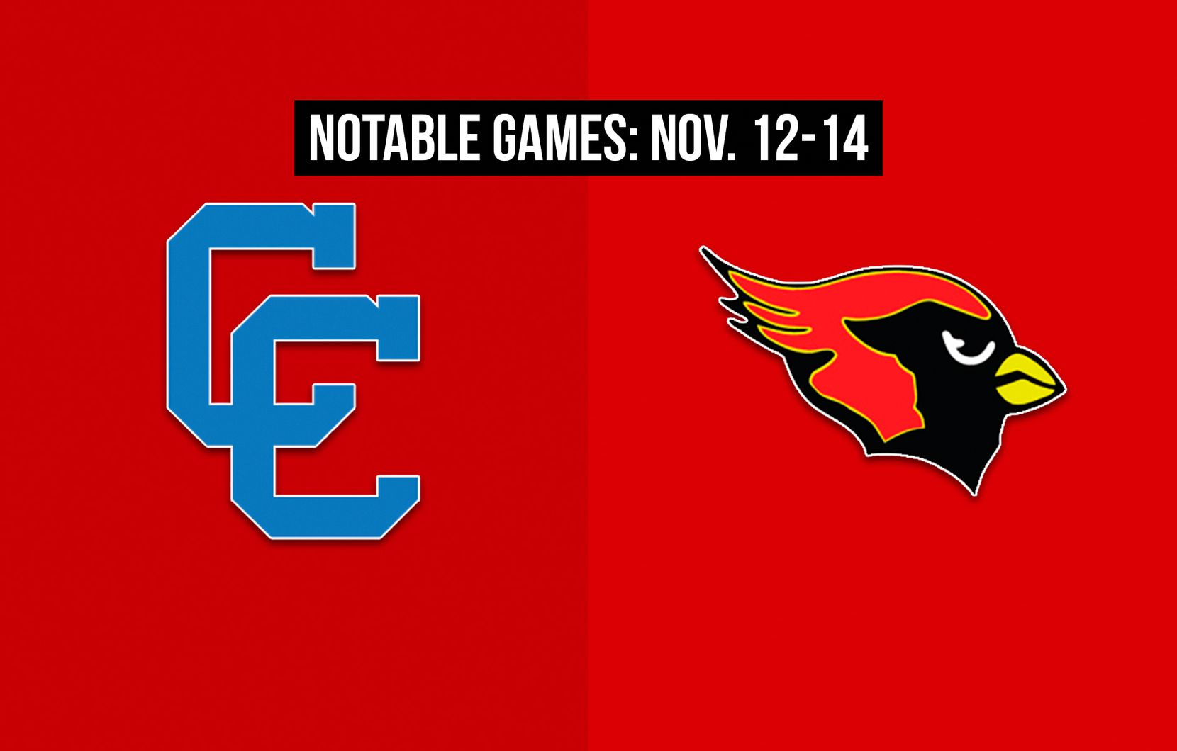 Notable games for the week of Nov. 12-14 of the 2020 season: Carter vs. Melissa.