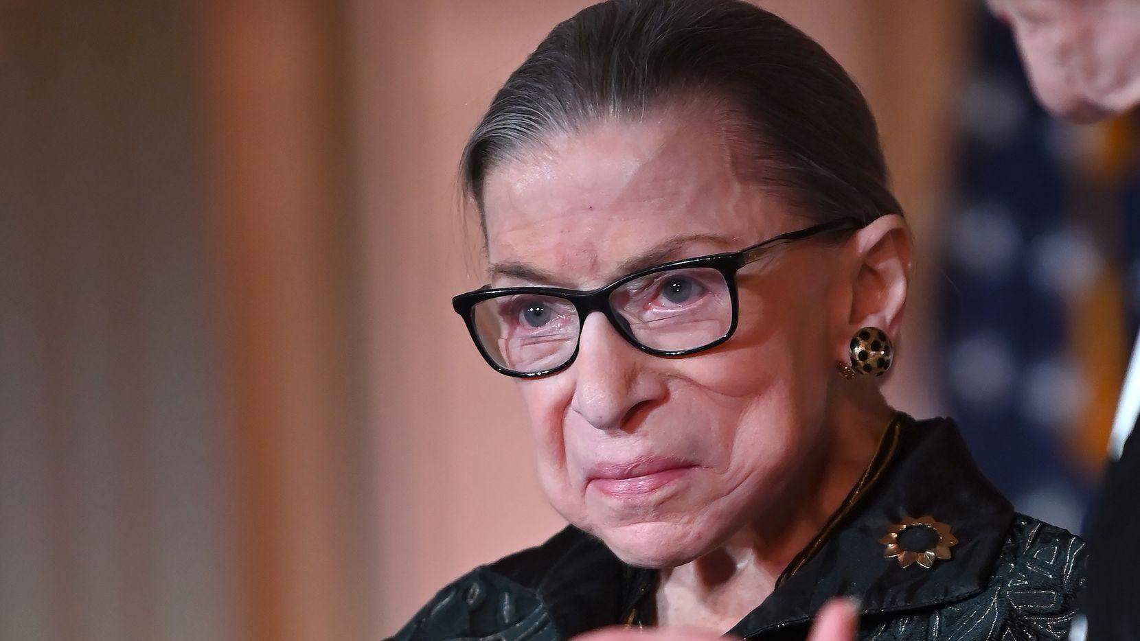 Ruth Bader Ginsburg, juez de la Corte Suprema de Estados Unidos.