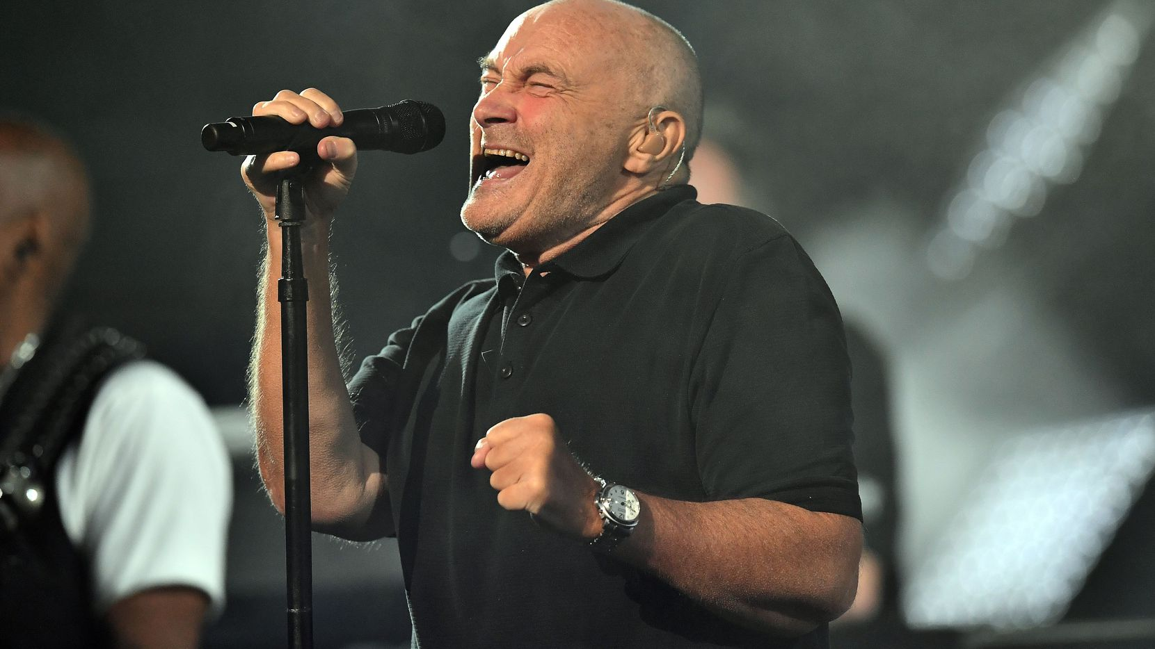 Phil Collins performs trae a Dallas su gira mundial (JEWEL SAMAD/AFP/Getty Images)