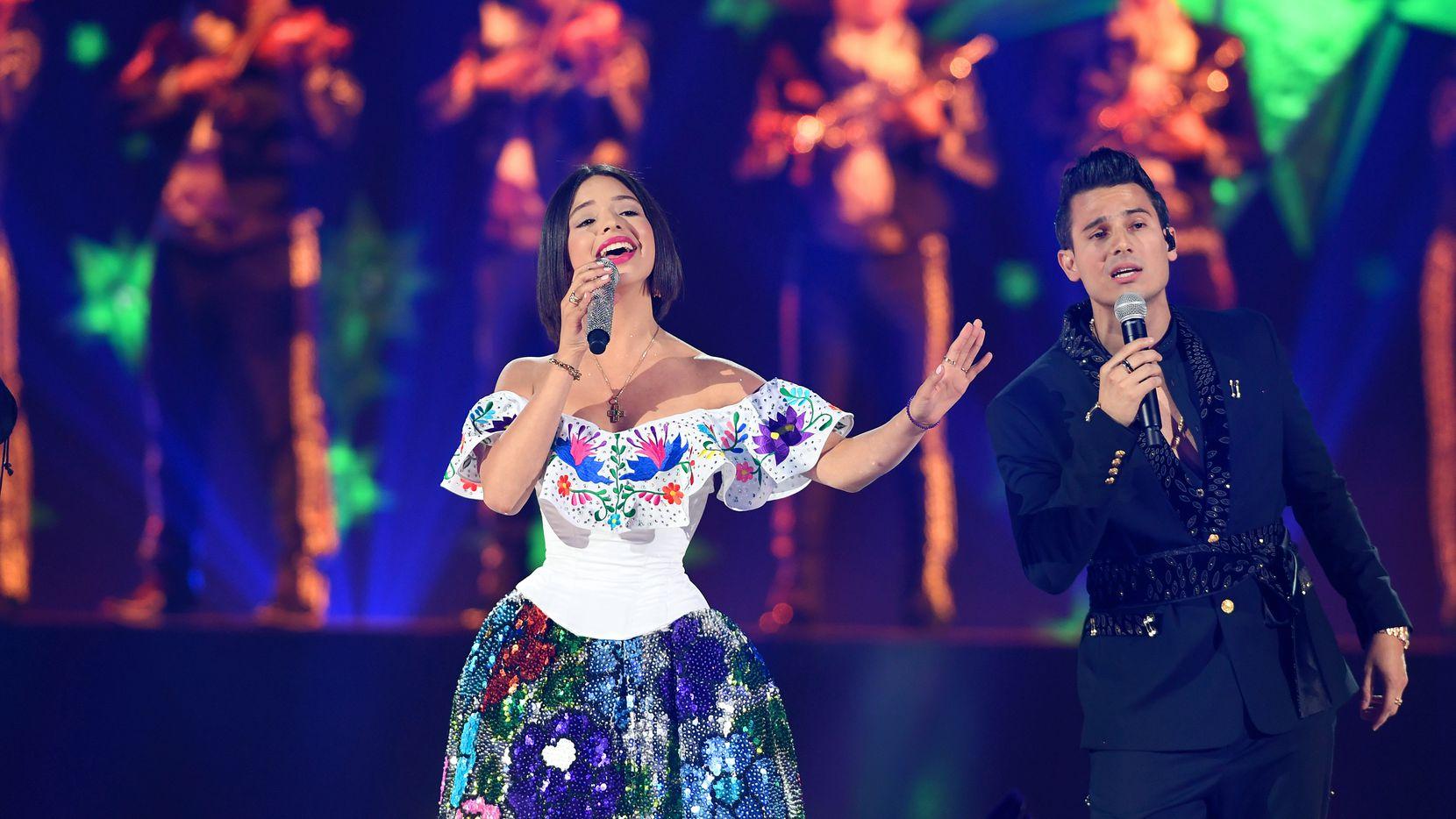 Angela Aguilar trae su gira 'Como la Flor' el día de San Valentin.  (Photo by Jason Koerner/Getty Images)