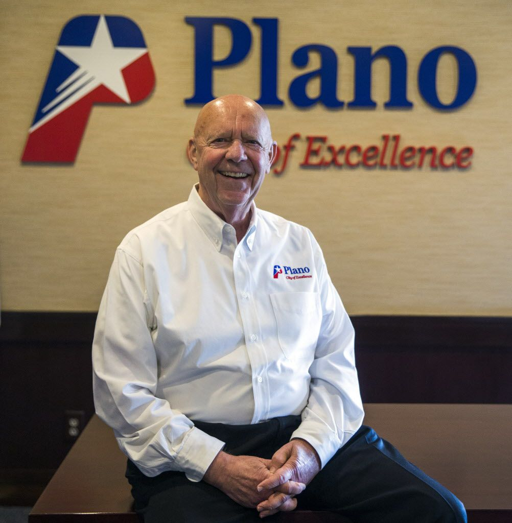 Plano's City Manager Bruce Glasscock served as police chief for more than a decade before moving into the leadership team in 2011.