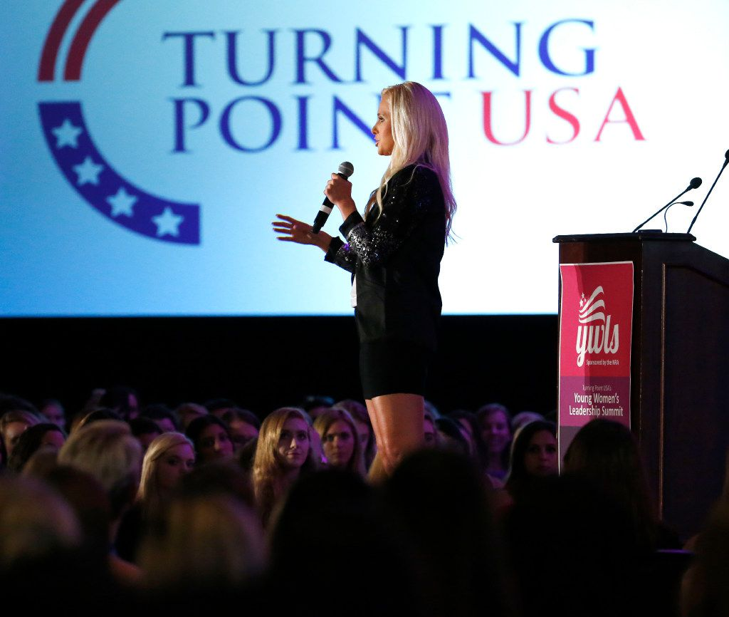 Tomi Lahren kicked off a weekend lineup of conservative female voices at Turning Point USA's Young Women's Leadership Summit.