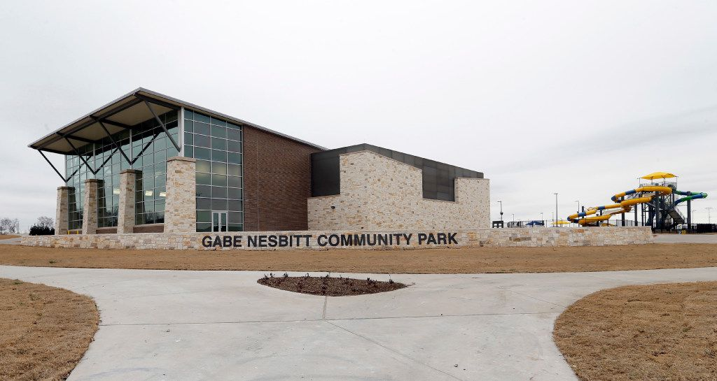 The Apex Centre at Gabe Nesbitt Community Park in McKinney is closed, but instructors are putting workouts online.