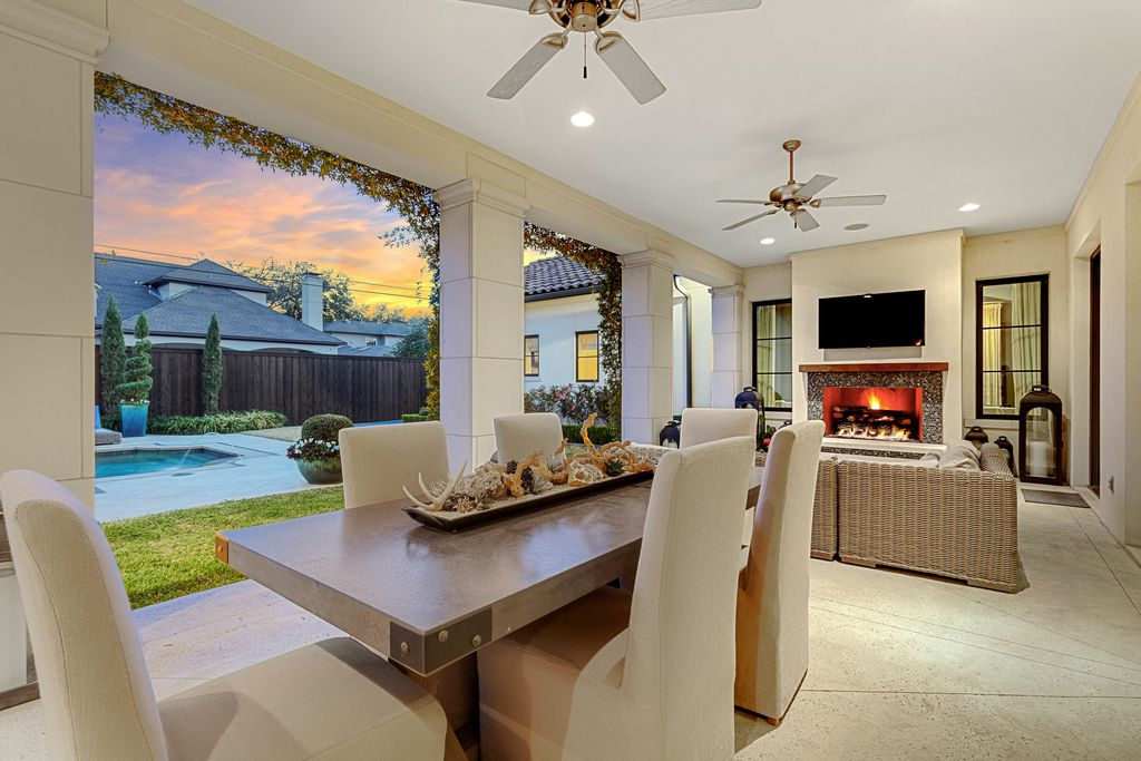 A look at the property at 6222 Stefani Drive in Dallas.