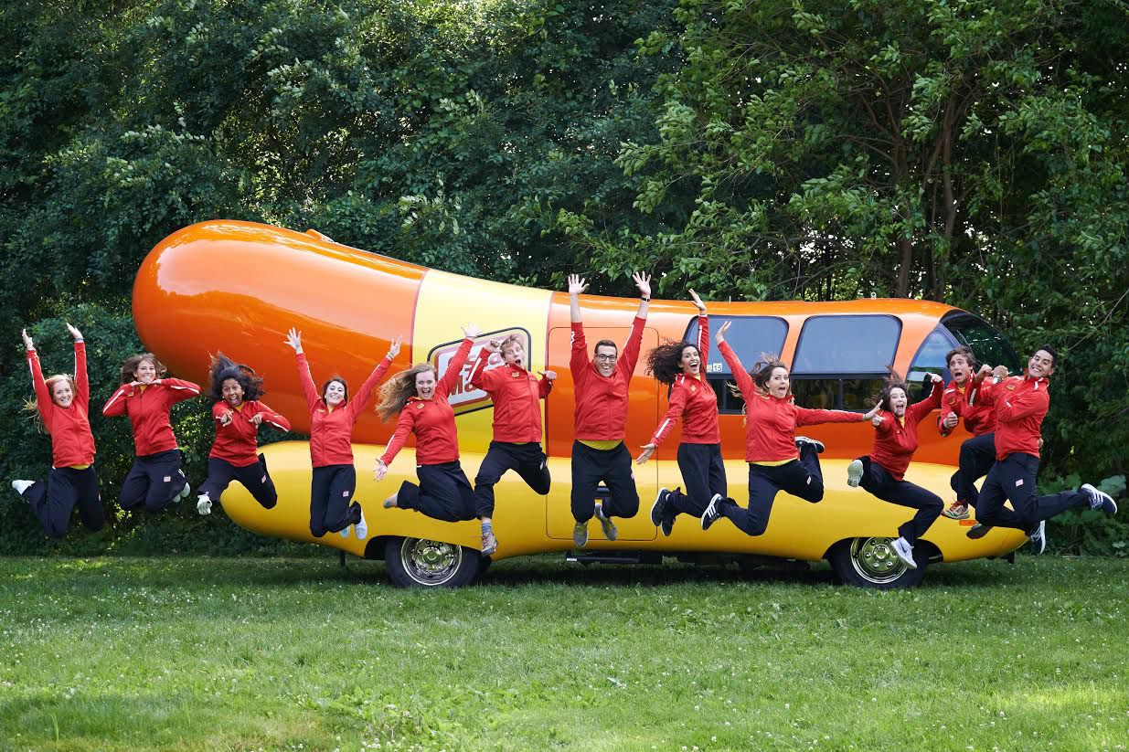The Oscar Mayer Wienermobile lands in the Dallas, Frisco and Rockwall areas in May 2016.