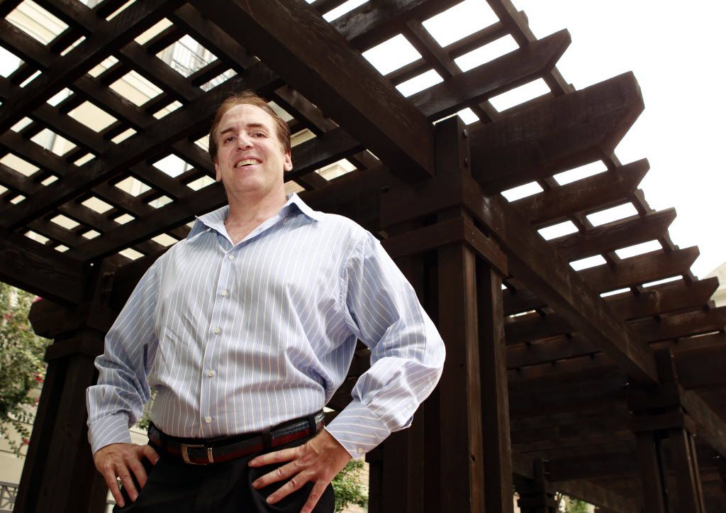 Brian Cuban, 49, brother of Mark Cuban, pictured on September 23, 2010, is trying to bring the medical marijuana movement to Texas. He is a lawyer and a writer