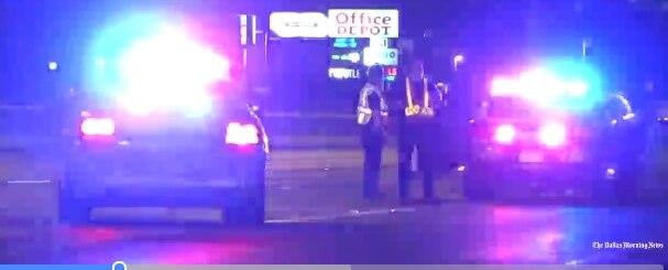 Un hombre fue atropellado en la Central Expressway la madrugada del viernes.