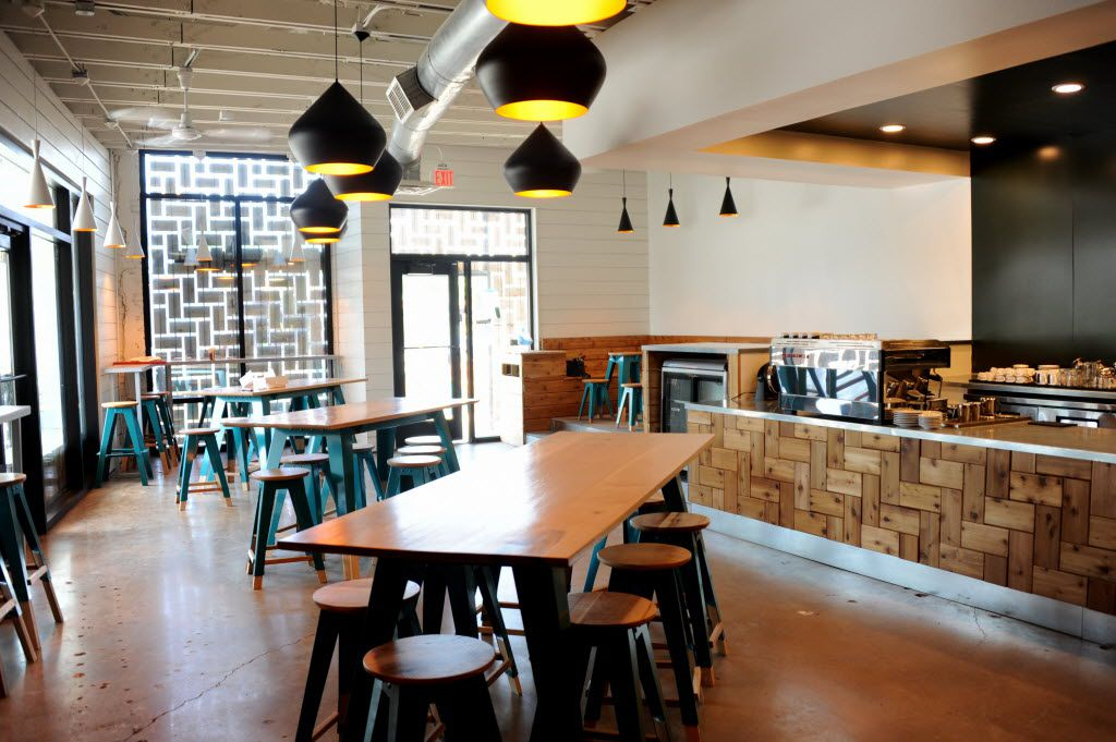 The interior of the shop will seat 50 guests comfortably at Houndstooth Coffee on Henderson Avenue in Dallas, TX on August 11, 2014. (Alexandra Olivia/ Special Contributor)