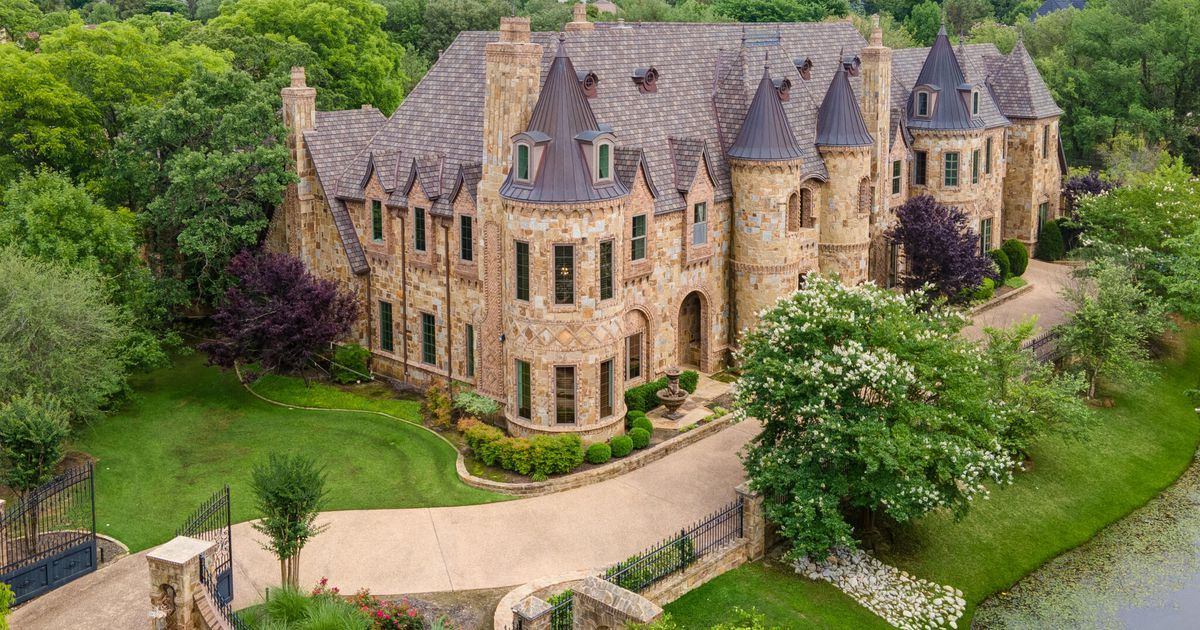 Have you dreamed of living in a castle? This Southlake home certainly looks like one