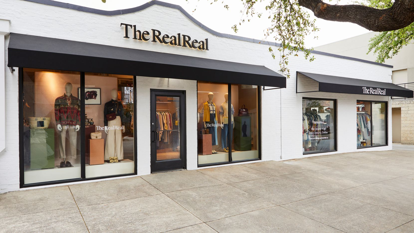 The RealReal opens April 8 at 3120 Knox Street in Dallas. The store is taking over space that formerly housed Kate Spade New York and is one of the new stores coming to the Knox District.
