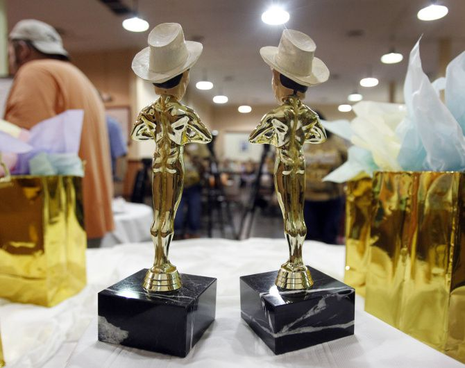 Big Tex Choice Awards winners get a Big Tex trophy.