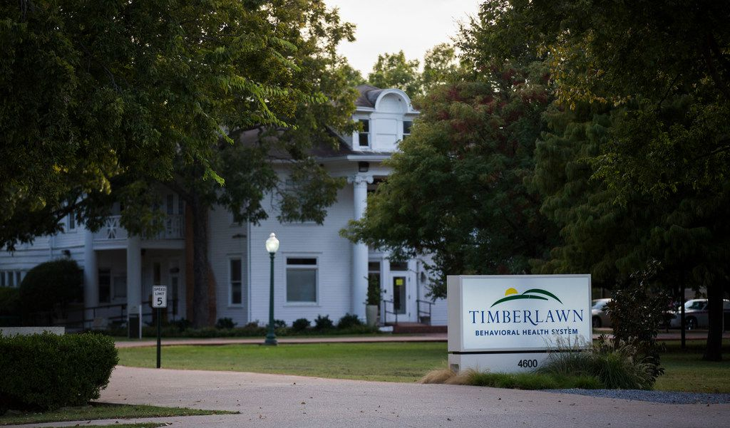 Timberlawn hospital was on probation with the state when a 13-year-old reported that she was sexually assaulted by another patient there this month. (Ashley Landis/Staff Photographer)
