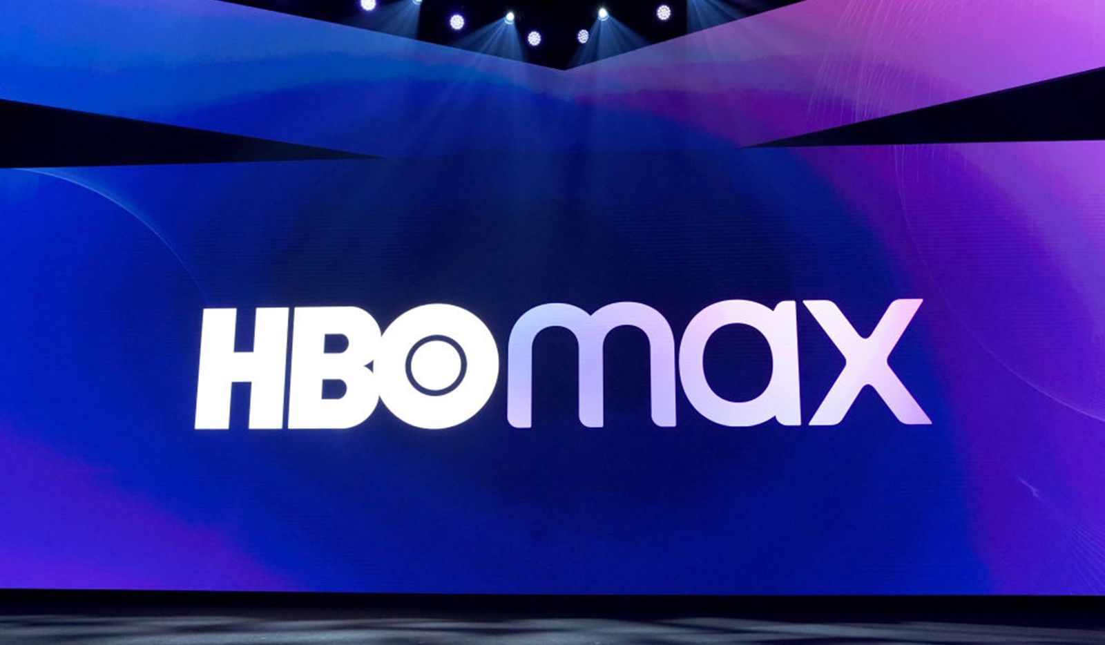 A general view of the stage at HBO Max WarnerMedia Investor Day Presentation at Warner Bros. Studios in 2019.