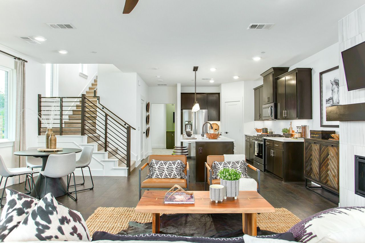 Grenadier Homes' houses start in the mid-$200,000s.