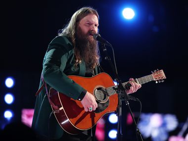 Recording artist Chris Stapleton performs onstage during the 60th Annual GRAMMY Awards at Madison Square Garden on Jan. 28, 2018 in New York City.