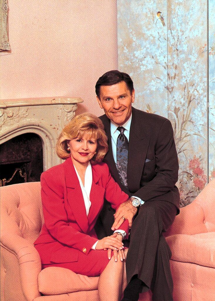 Kenneth Copeland and his wife, Gloria Copeland, in an undated photo.