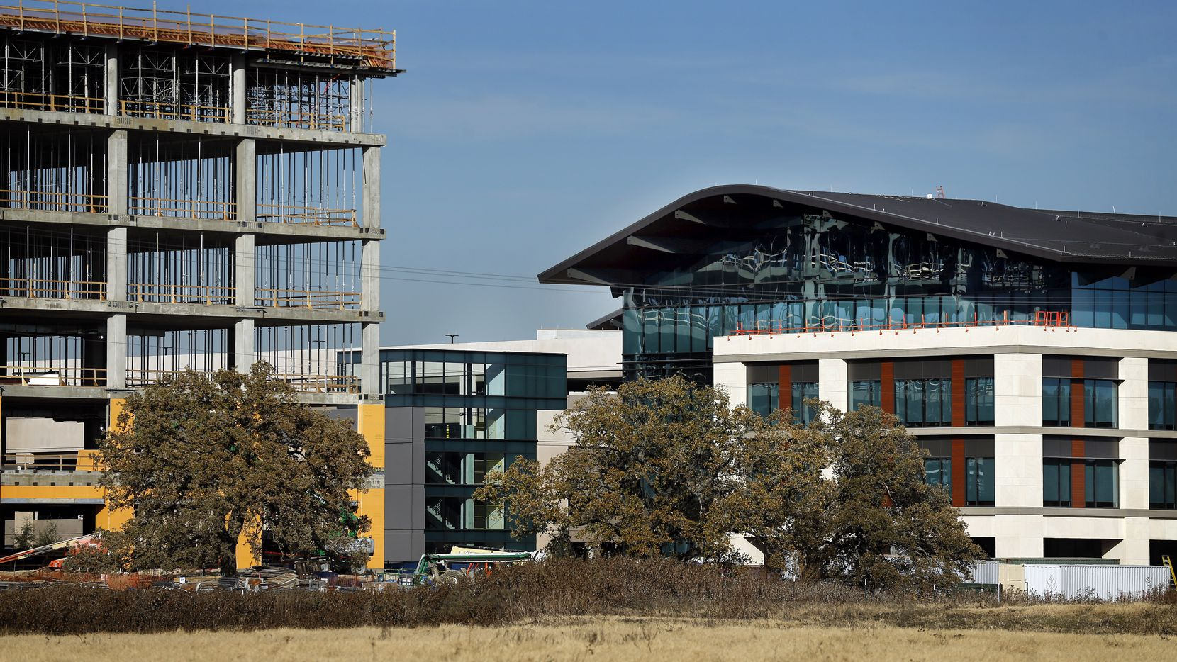 Charles Schwab will move its corporate headquarters from San Francisco to a new campus in Westlake, currently under construction. Finance and insurance jobs have been growing rapidly in North Texas, the state's business and financial services hub.