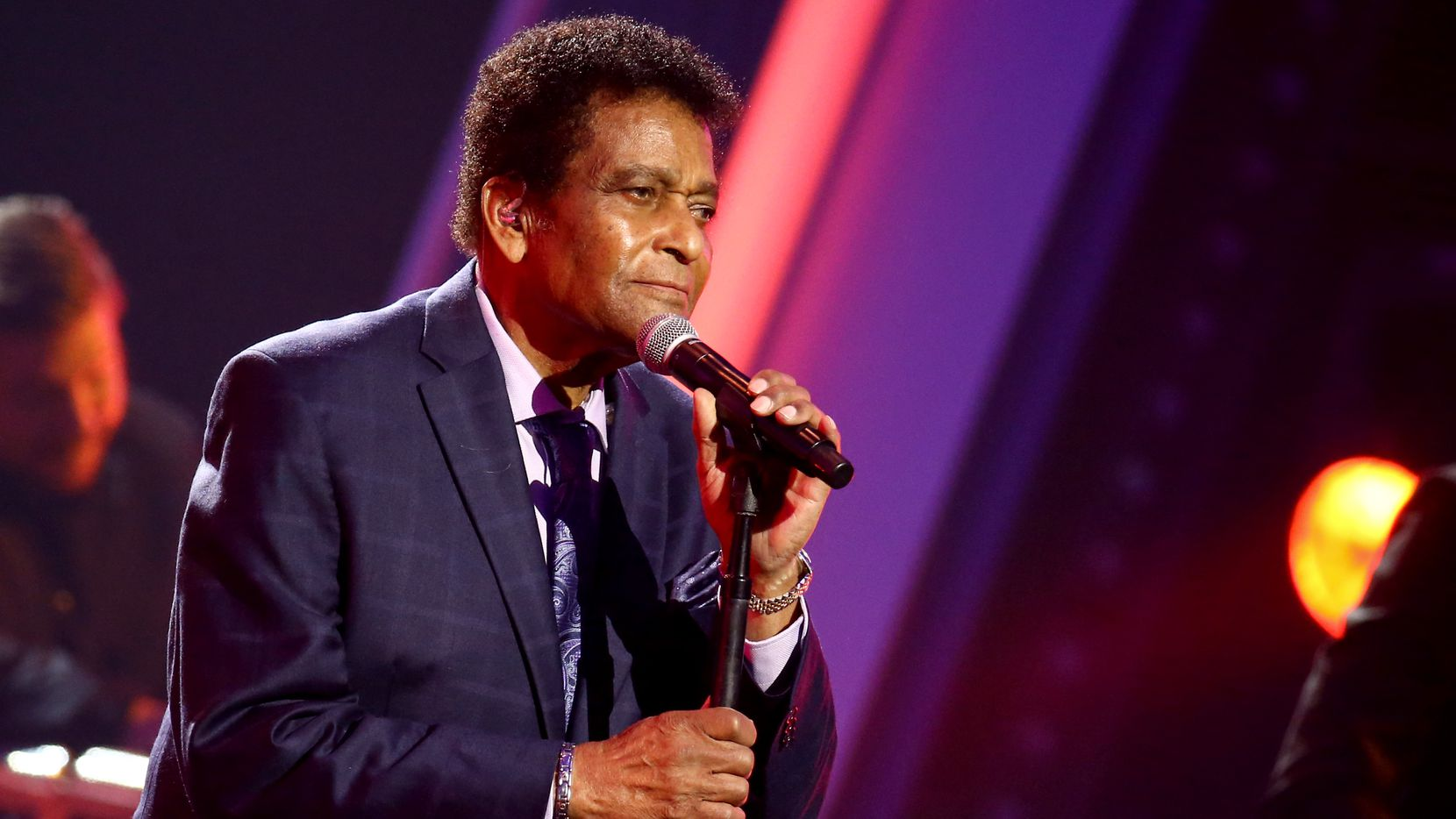 Charley Pride performs during the 54th Annual CMA Awards at Music City Center on Nov. 11 in Nashville, Tenn.