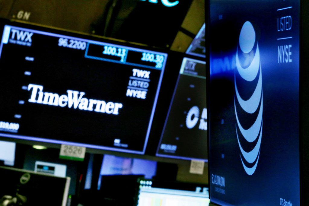 AT&T's stock price has declined since it announced plans to buy Time Warner in late 2016 and fell further after the deal survived a court challenge from the government this month.