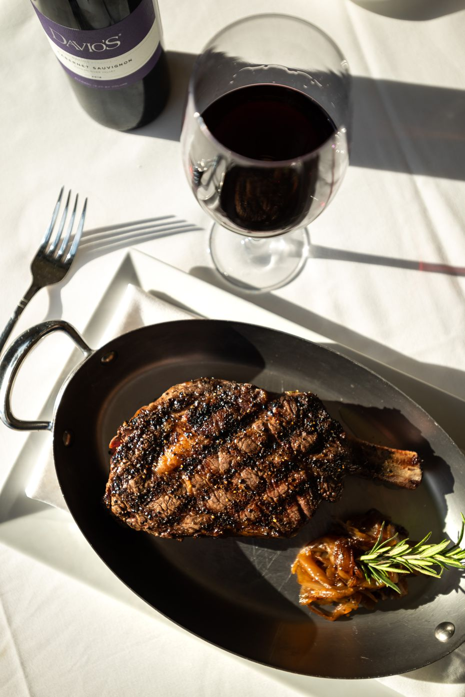 Davio's is a Northern Italian steakhouse that seems right for a special evening with your sweetheart.