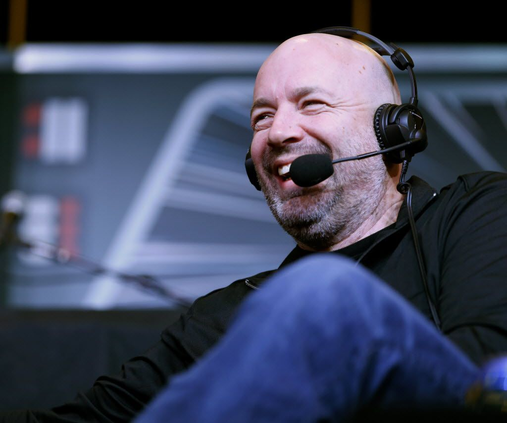 Bob Sturm laughs on air at The Ticket Sportradio's Ticketstock 2016 at the Irving Convention Center in Irving, Texas on Feb. 20, 2016. (Rose Baca/The Dallas Morning News)