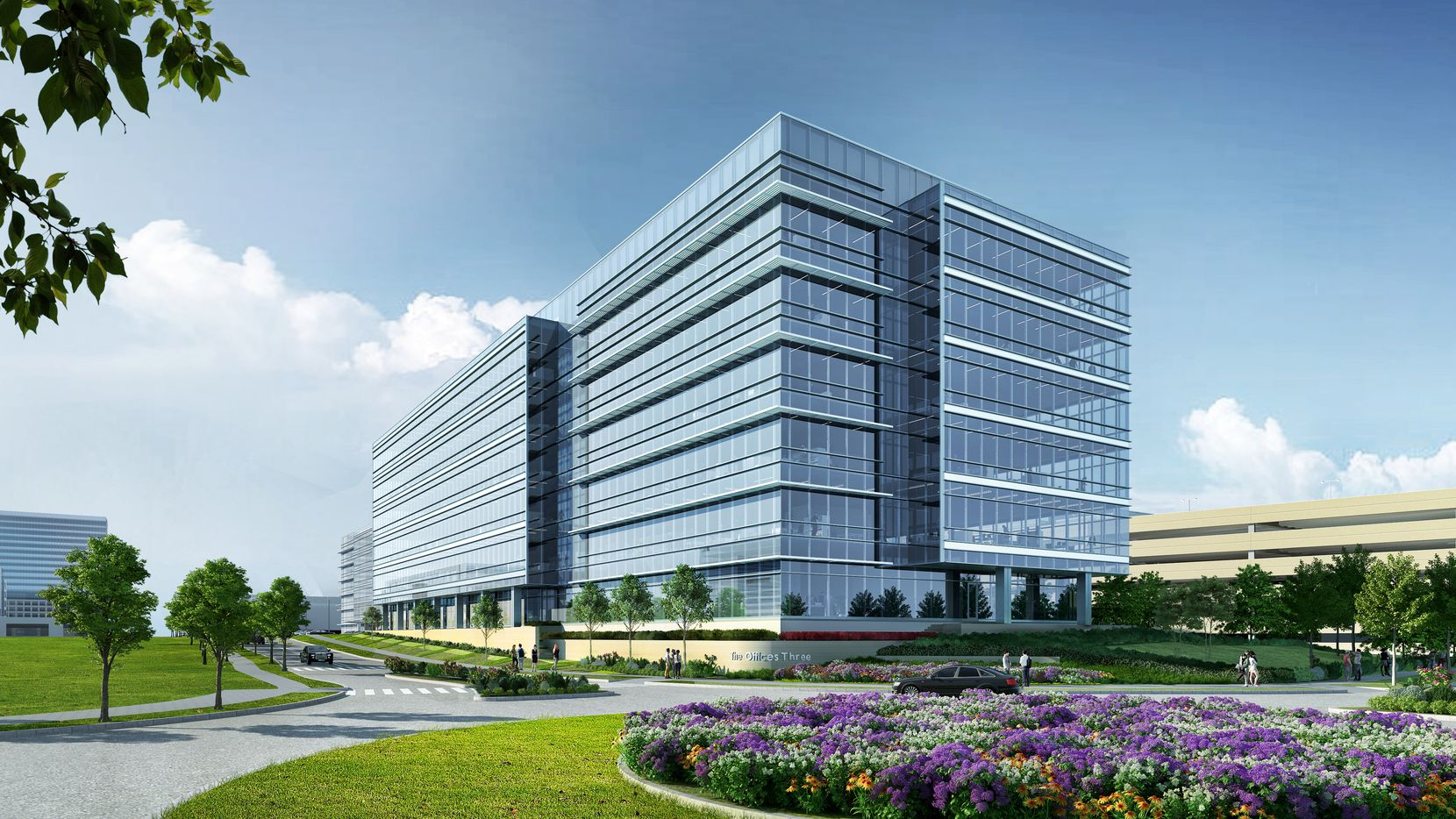 The Offices Three at Frisco Station is a 210,000-square-foot speculative office building.