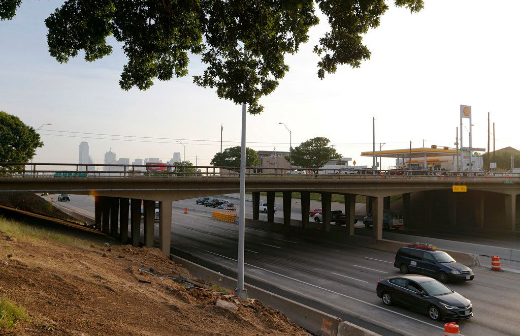 Eighth Street bridge at the I-35E intersection is closed and will remained closed for the next six months as part of TxDOT's Southern Gateway project.
