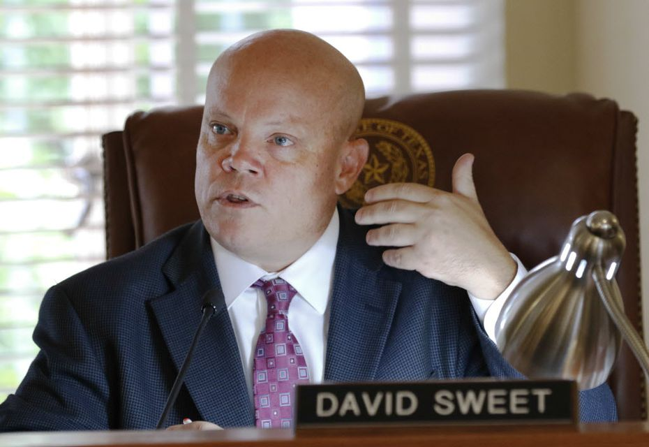 Rockwall County Judge David Sweet has given back a portion of his raise after public complaints that it was too high. (David Woo/Staff Photographer)
