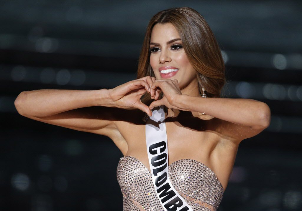 Ariatna Gutiérrez-Arévalo Miss Colombia/ AP