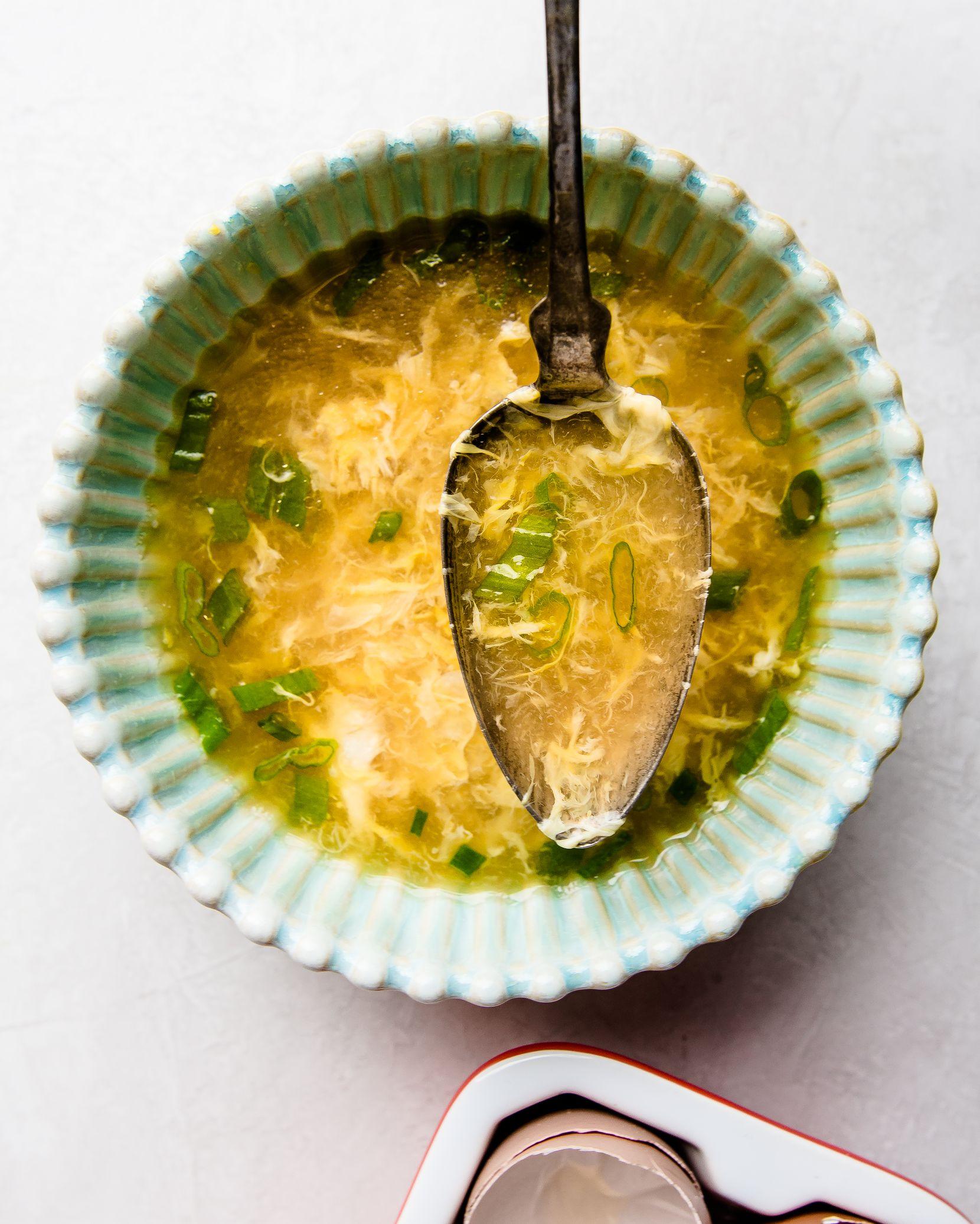 Egg Drop Soup by Rebecca White