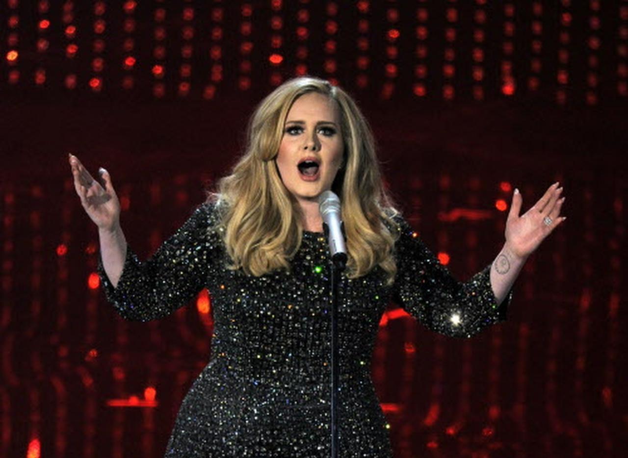 Adele no está nominada a ningún premio, pero canta esta noche en la entrega de los Grammy. (Ap/CHRIS PIZZELLO)